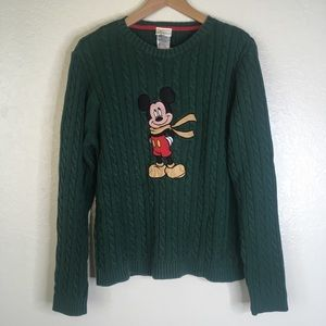 Disney Holiday Collection Vintage Men's Sweater